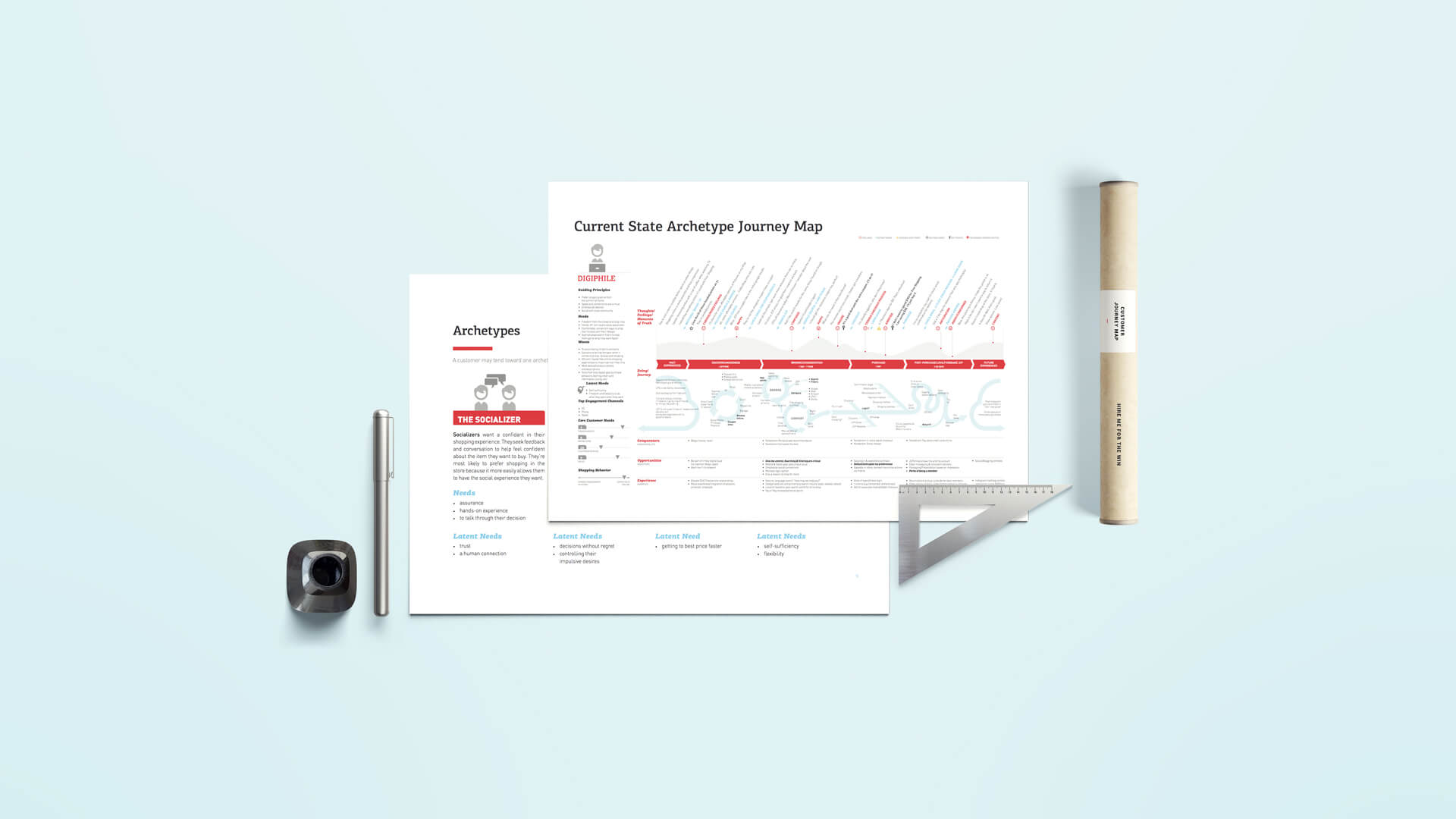 JCPenney Customer Journey Map--A New Way Of UX Thinking